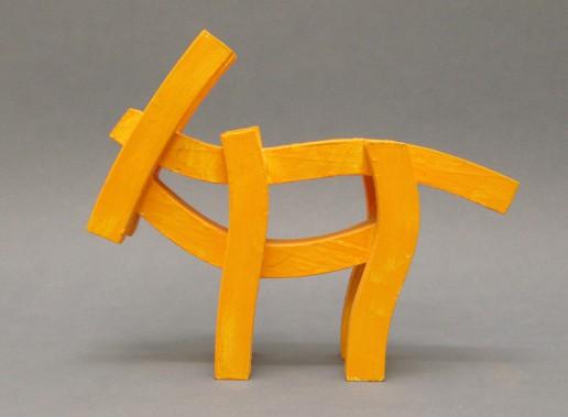 Tier Figur Ziegenbock