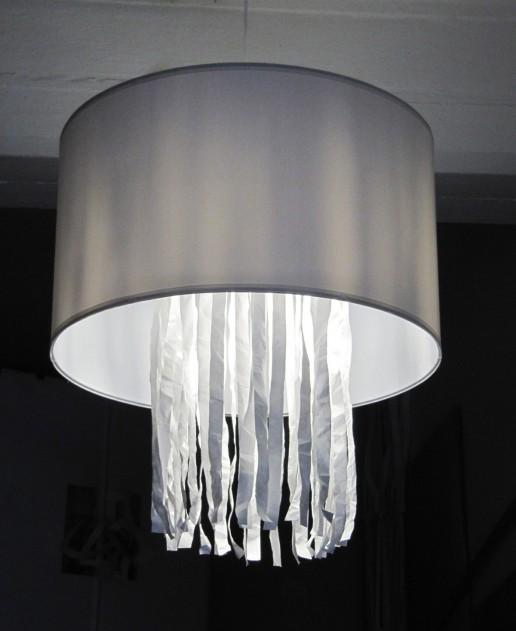 Angewandte Kunst: Lampenschirm Deckenlampe Lampe