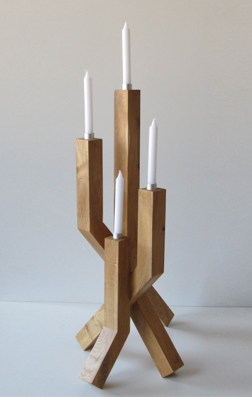Angewandte Kunst: Kerzen-Leuchter