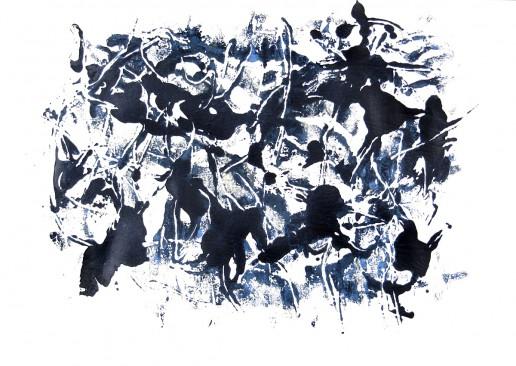 Zeichnung Acryl