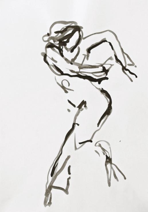 Zeichnung Tusche